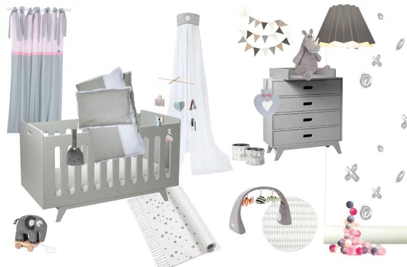 Babyzimmer grau gestalten - Einrichtungsideen im kinder räume online ...