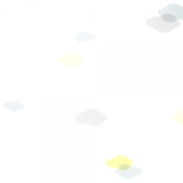 Casadeco Tapete Wolken grau lime Jules & Julie