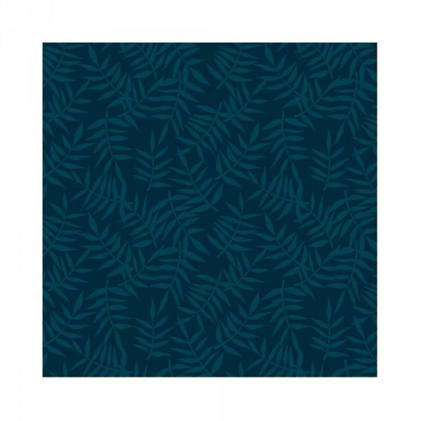 Lilipinso Vlies Tapete Zweige dunkelblau