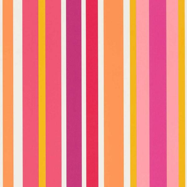 Scion Guess Who Tapete Streifen pink orange lila