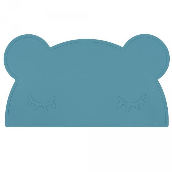 We Might Be Tiny Kinder Tischset Silikon Bär dunkelblau