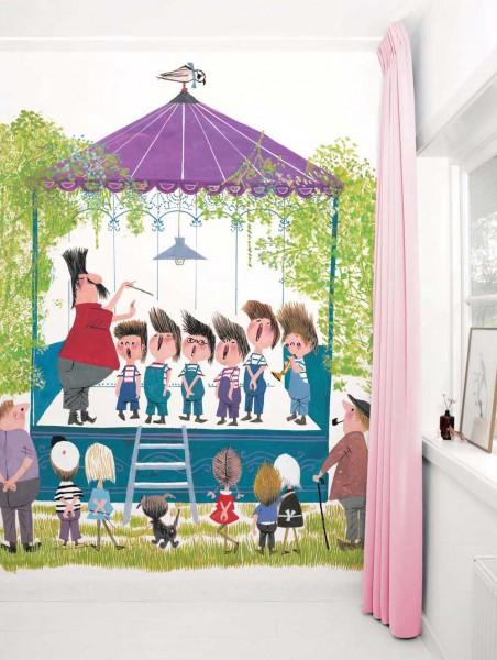 Kek Amsterdam Tapeten Wandbild Kinderchor