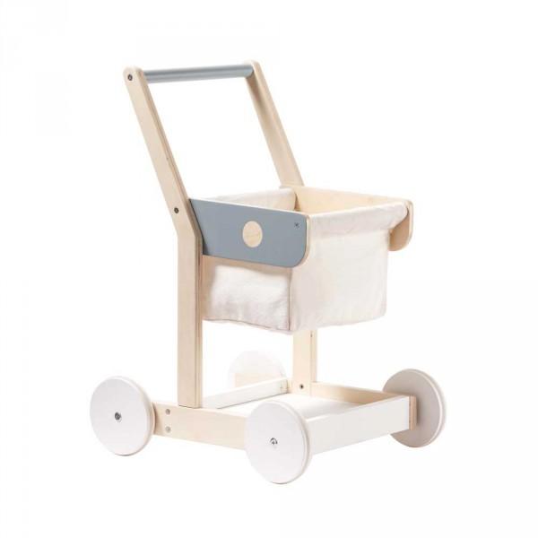 Einkaufswagen Spielzeug für Kaufmannsladen von Kids Concept