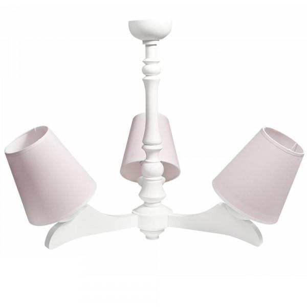 Caramella Deckenlampe 3 armig rosa