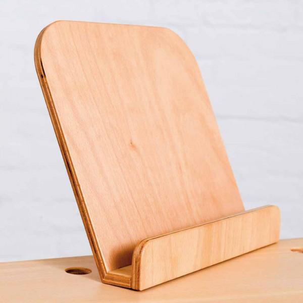 Pure Position Growing Table Buchaufsteller Buche