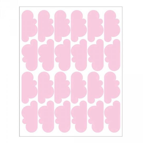 tresxics Wandsticker Wolken rosa