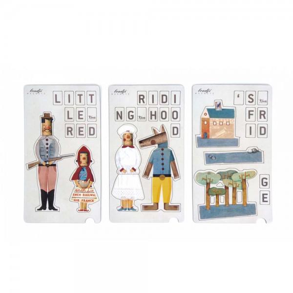 Londji Kinder Magneten Rotkäppchen