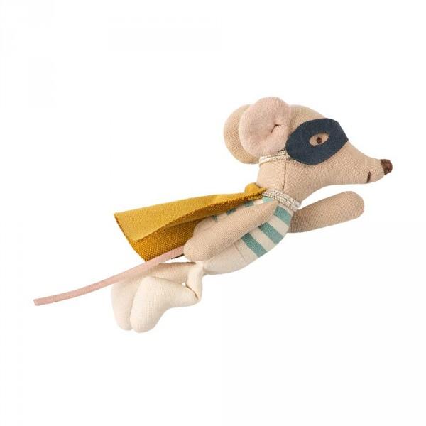 Maileg Stofftier Schutzengel Maus Superheld