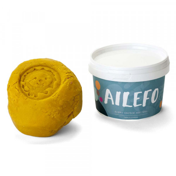 Ailefo Bio Kinderknete gelb