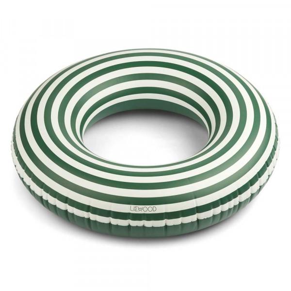 """Liewood """"Donna"""" Schwimmreifen gross grün creme gestreift"""