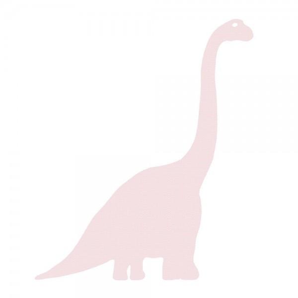 Inke Tapetendino Diplodocus rosa Punkte weiss