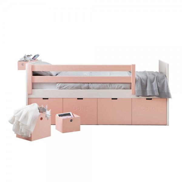 Muba Bespoke Kinderbett mit 4 Rollcontainern