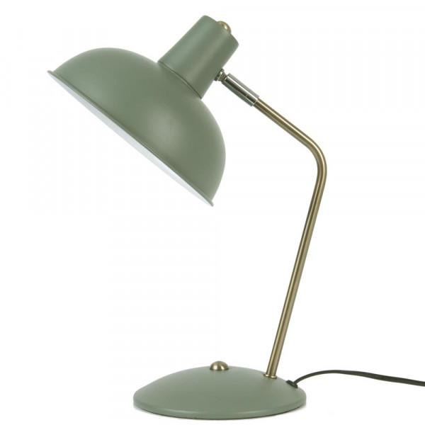 """Present Time Leitmotiv Schreibtischlampe """"Hood"""" grün"""