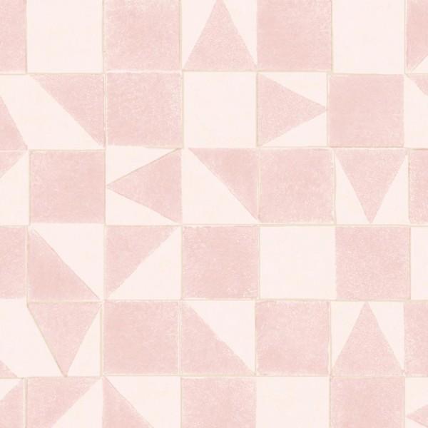 Eijffinger Mini Me Tapete Mosaik rosa