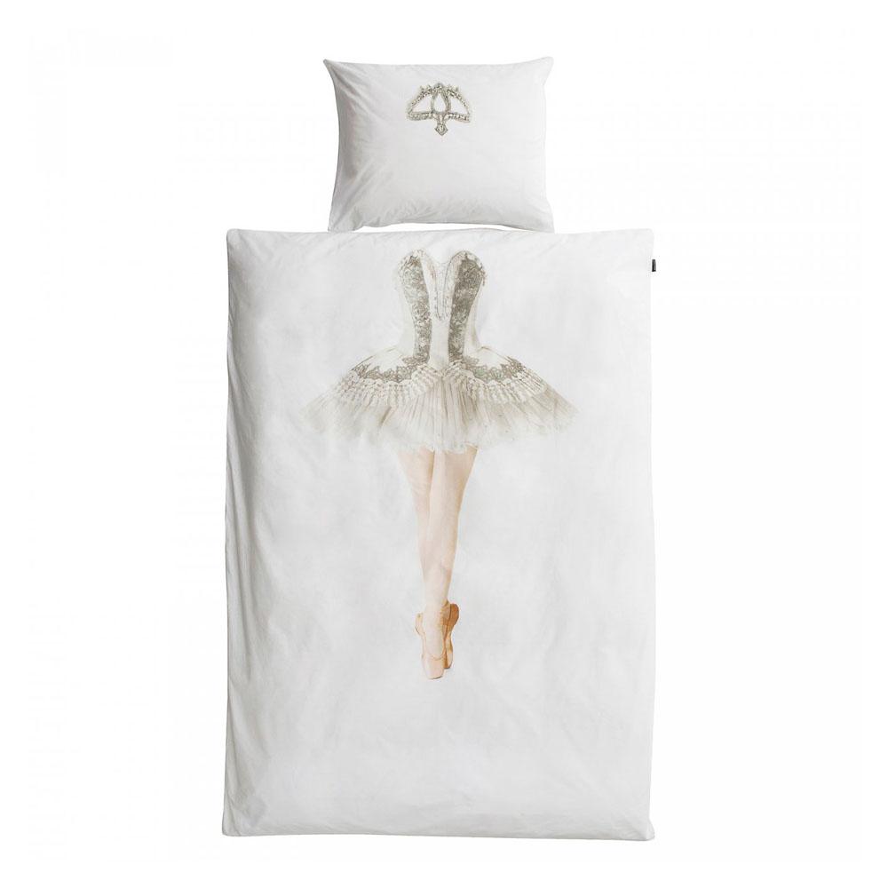 snurk m dchen bettw sche ballerina 135 x200 bei kinder r ume. Black Bedroom Furniture Sets. Home Design Ideas