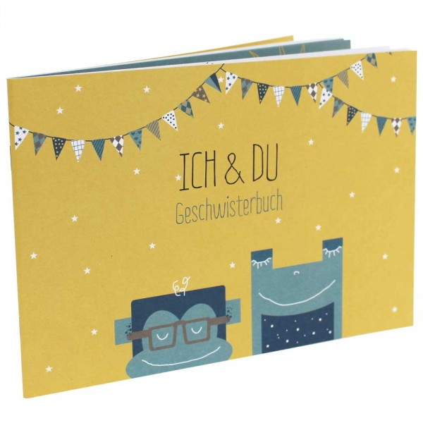 "Ava & Yves Geschwisterbuch ""Ich & Du"""