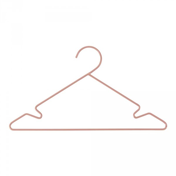 Sebra Kinder Kleiderbügel-Set Metall altrosa