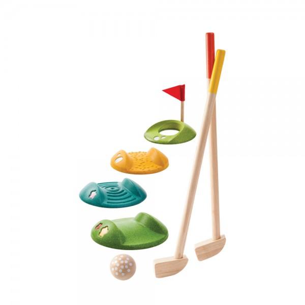 Plan Toys Minigolf-Set Holz