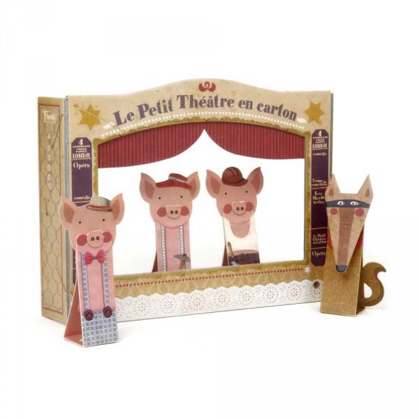 Londji Papptheater 3 kleine Schweinchen