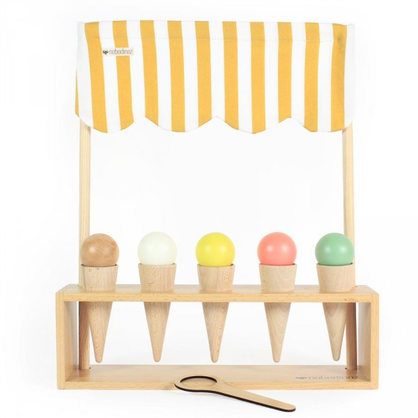 Nobodinoz Spiel Eisdiele Holz