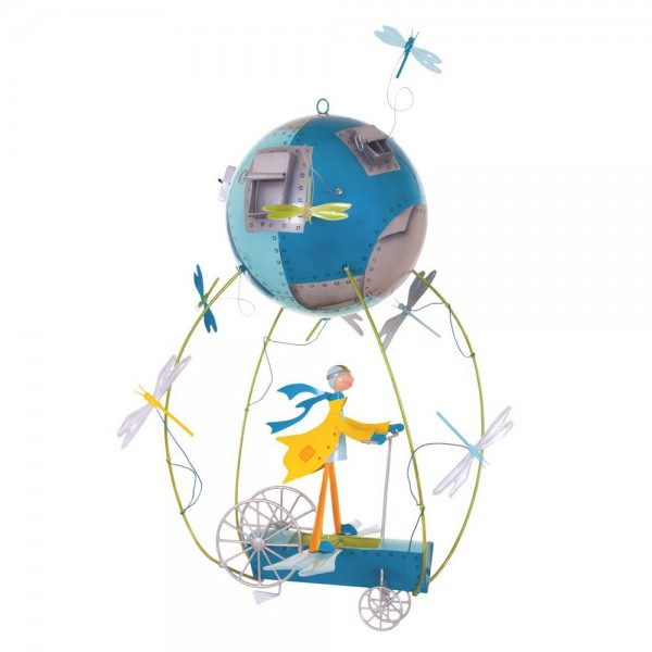 L' Oiseau Bateau Mobile Heissluftballon Flugmaschine