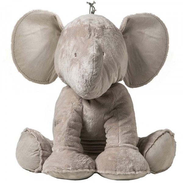 Tartine et Chocolat Elefant Ferdinand taupe 60 cm