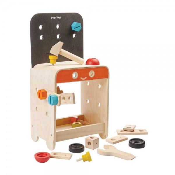 Plan Toys Kinder Werkbank Holz
