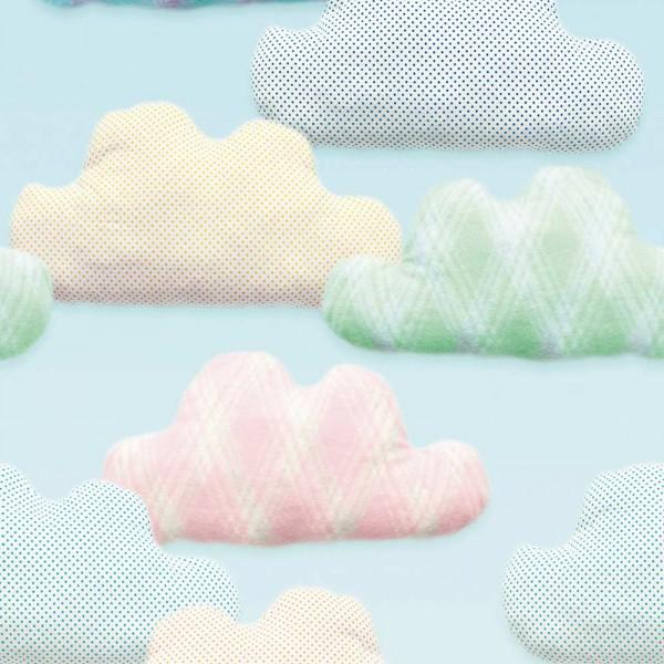 Eijffinger Tout Petit Tapeten Wandbild Wolken pastell