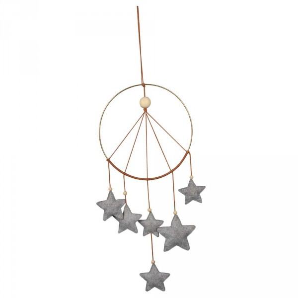 Filibabba Traumfänger / Mobile Sterne grau