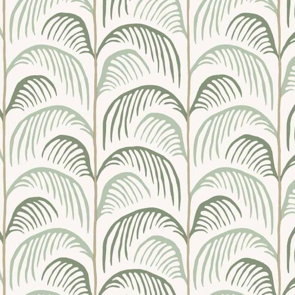 Eijffinger Mini Me Tapete Palmen Blätter grün