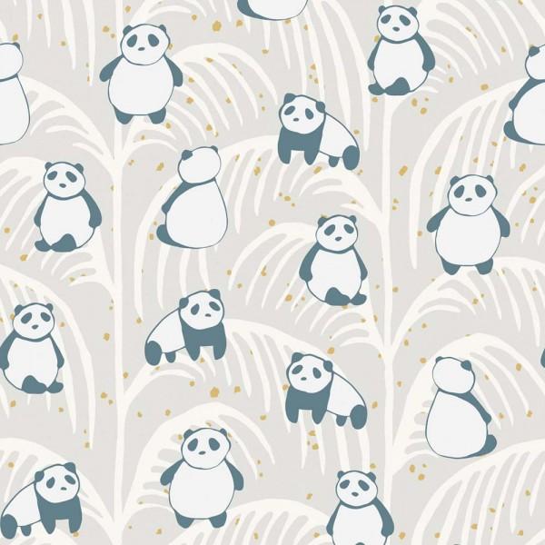 Eijffinger Wandbild Pandas sand