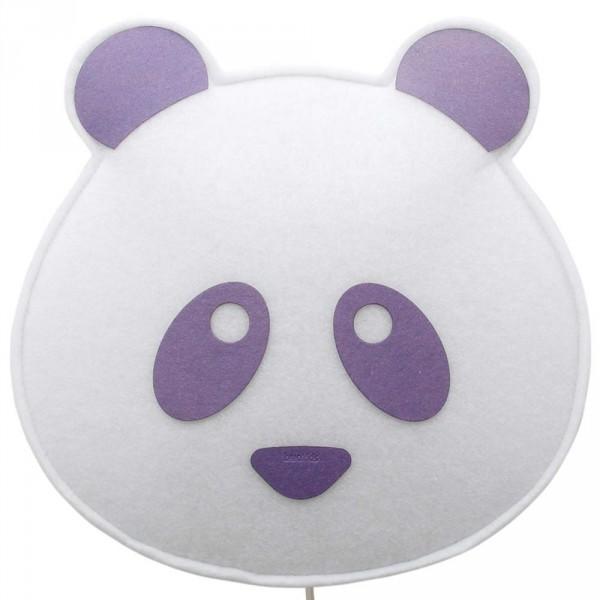 Buokids Soft Wandlampe Panda Bär violett