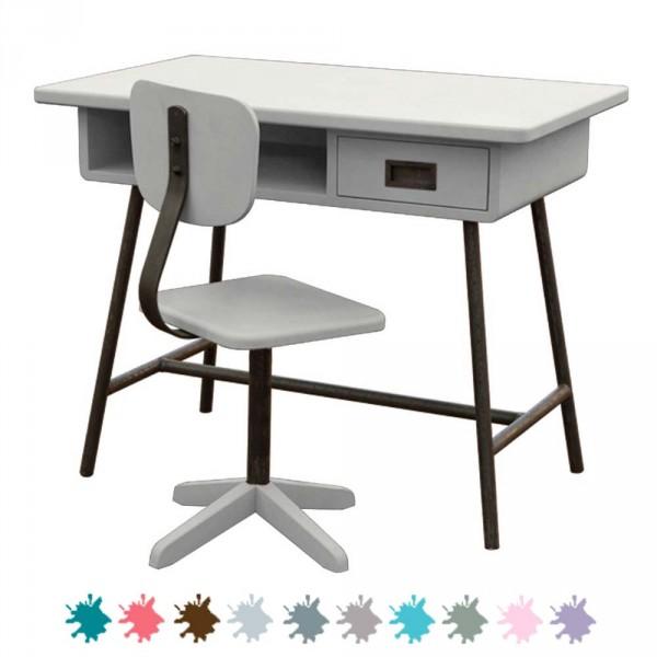 Laurette Kinderschreibtisch La Classe mit Stuhl