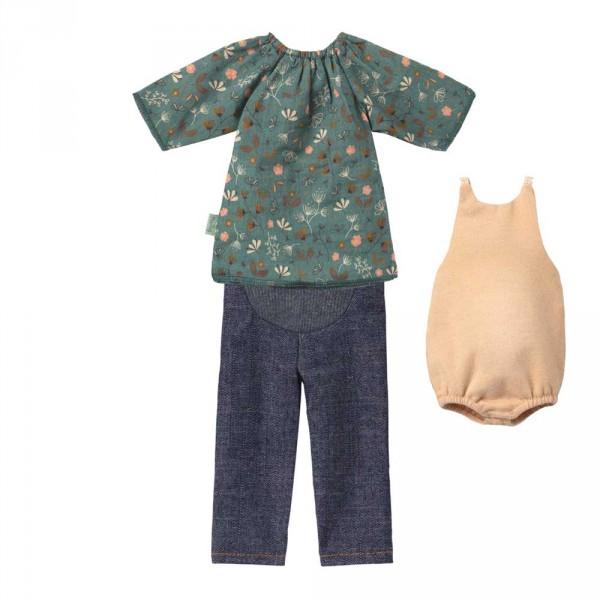Maileg Bekleidungs-Set Schwangerschaft Mama Ginger Grösse 1