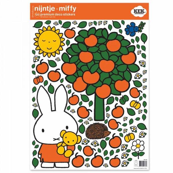 Kek Amsterdam Sticker groß Miffy & Apfelbaum