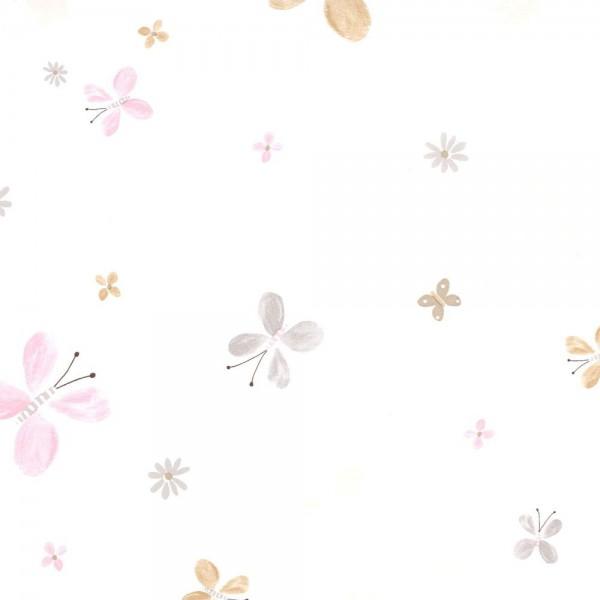 Casadeco Tapete Schmetterling ocker Jules & Julie