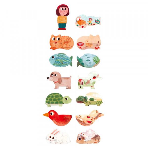 Londji Kinder Puzzle I love my pets