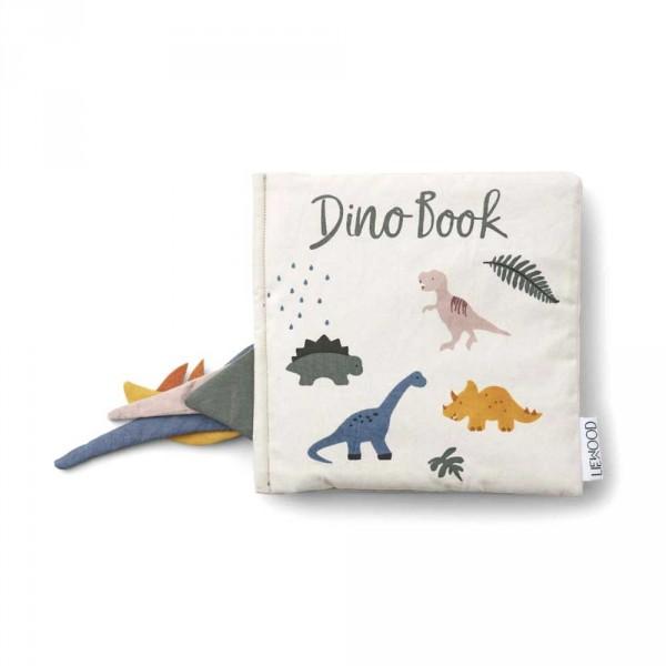 """Liewood """"Dennis"""" Stoffbilderbuch Dino"""