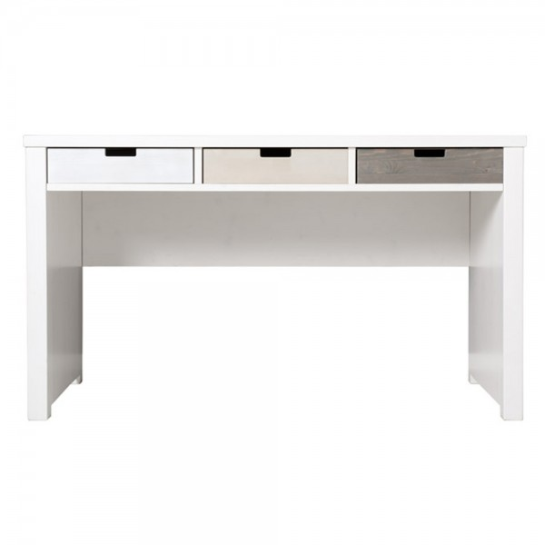 Bopita Basic Wood Schreibtisch white wash