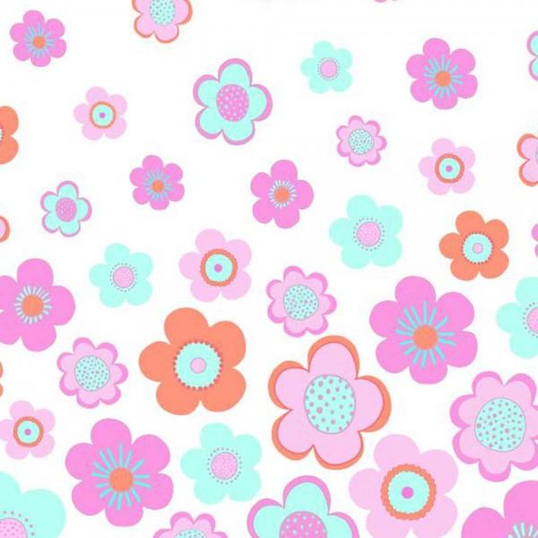 Rasch Textil Everybody Bonjour Wandbild Blumen