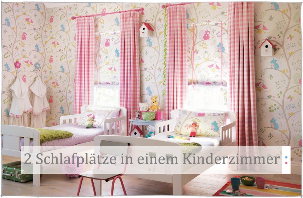 2 Kinder im Kinderzimmer schlafen | kinder räume Magazin | kinder räume