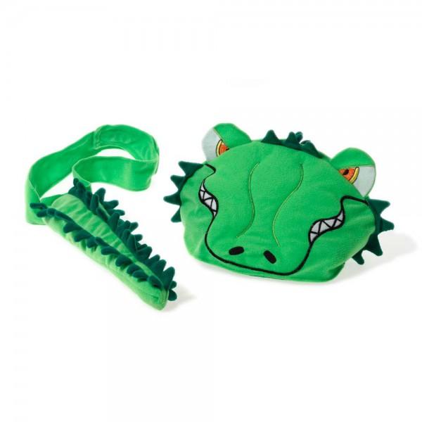 Oskar & Ellen Tier Spielmütze Krokodil