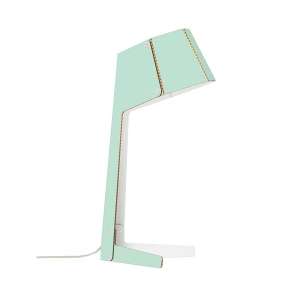 andbros Schreibtischlampe Pappe mint