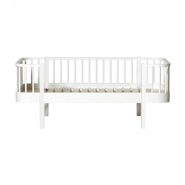 Oliver Furniture Wood Umbauset Juniorbett zu Junior-Bettsofa weiss