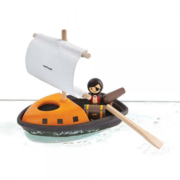 Plan Toys Badewannen-Piratenboot