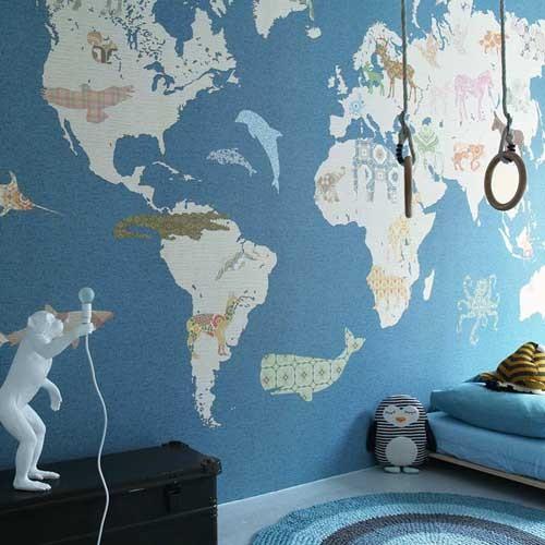 ᐅ Weltkarte fürs Kinderzimmer bei kinder räume aus Düsseldorf ...
