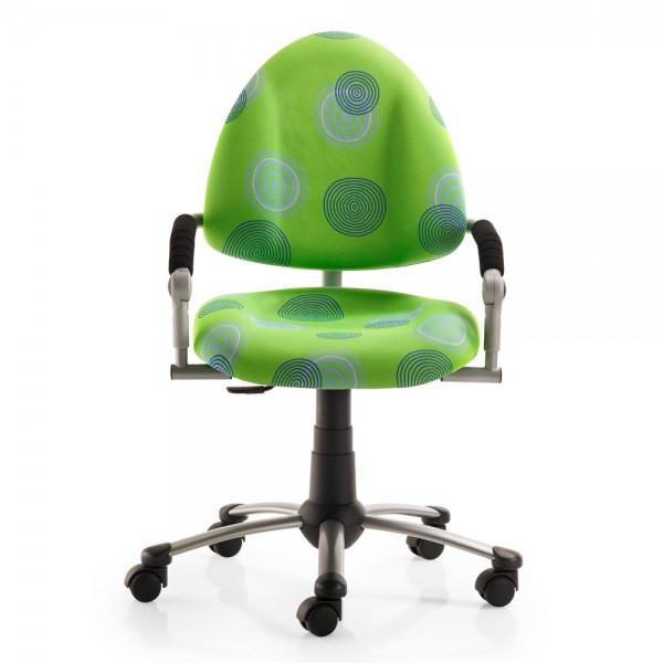 Mayer Kinder Bürostuhl freaky Kringel grün