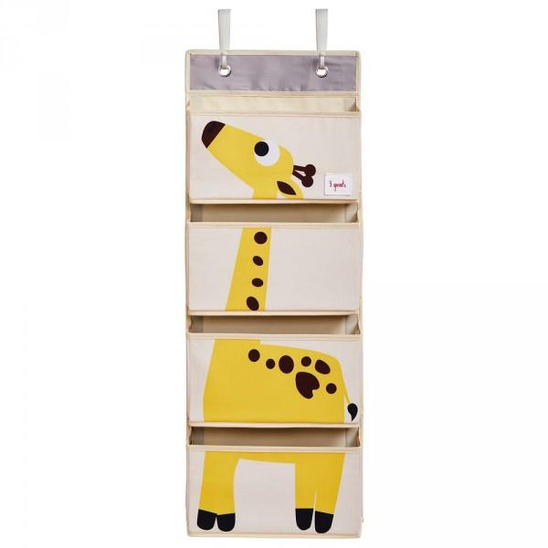 3 Sprouts Wandaufbewahrung Utensilo Giraffe