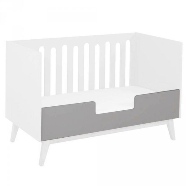 Quax Umbauseite für Babybett Trendy grau 70 x 140
