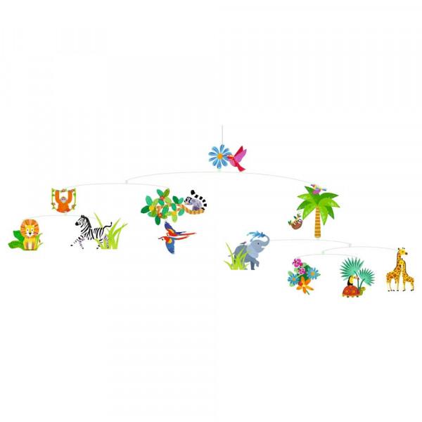Djeco Kinder Mobile Dschungelwelt